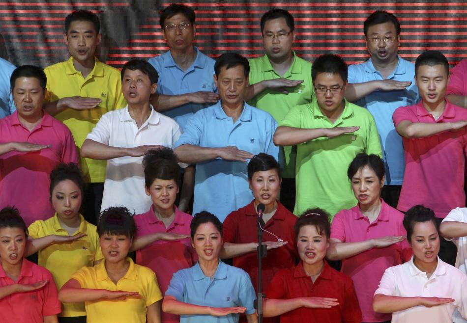 90th Anniversary of China's Communist Party (3 of 7)