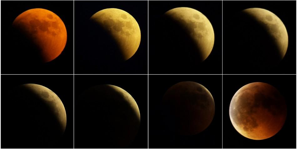 2011 Lunar Eclipse: Best captured images across the world.