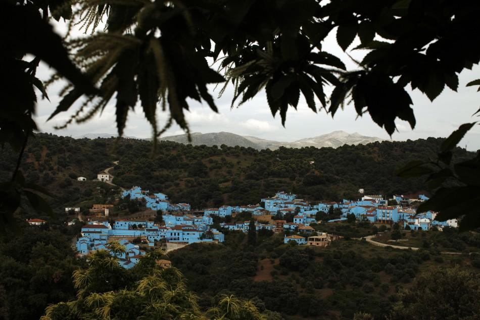 A general view of the village of Juzcar