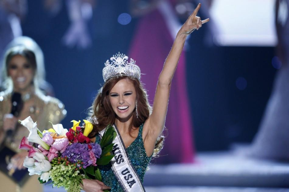 Miss California Alyssa Campanella crowned Miss USA 2011