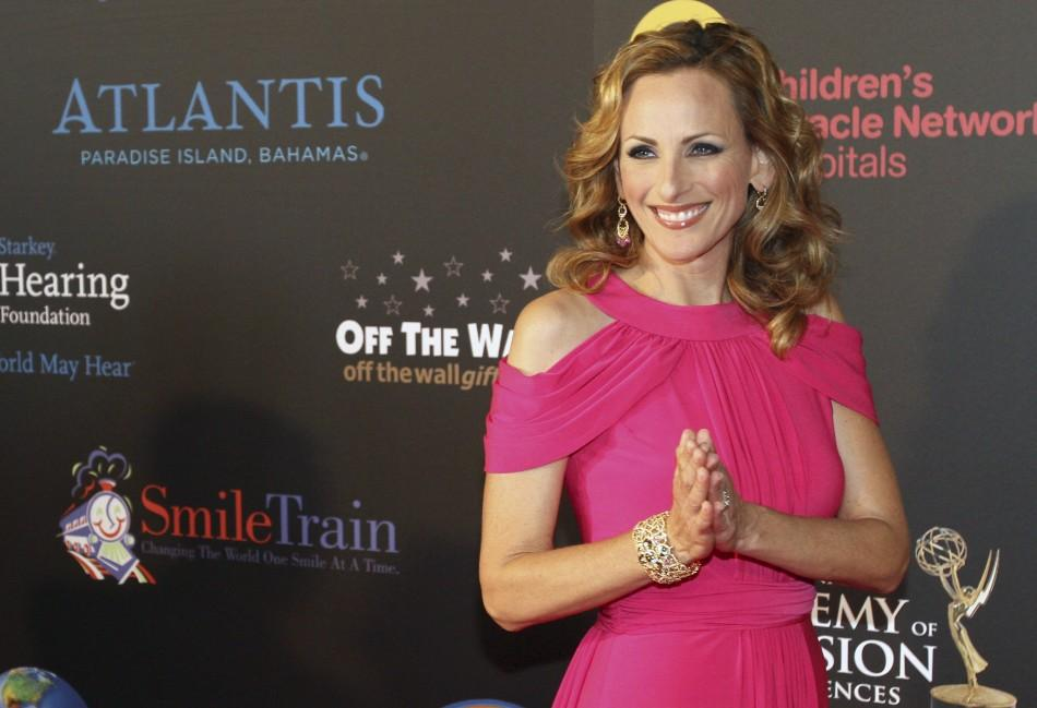 Actress Marlee Matlin arrives at the 38th Annual Daytime Entertainment Emmy Awards at the Las Vegas Hilton in Las Vegas