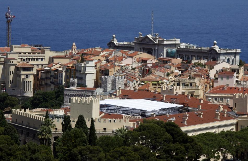 A general view of Monaco is seen in June