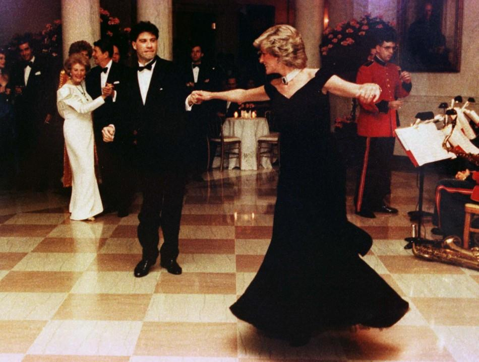 Princess Diana's 'John Travolta' gown to be auctioned
