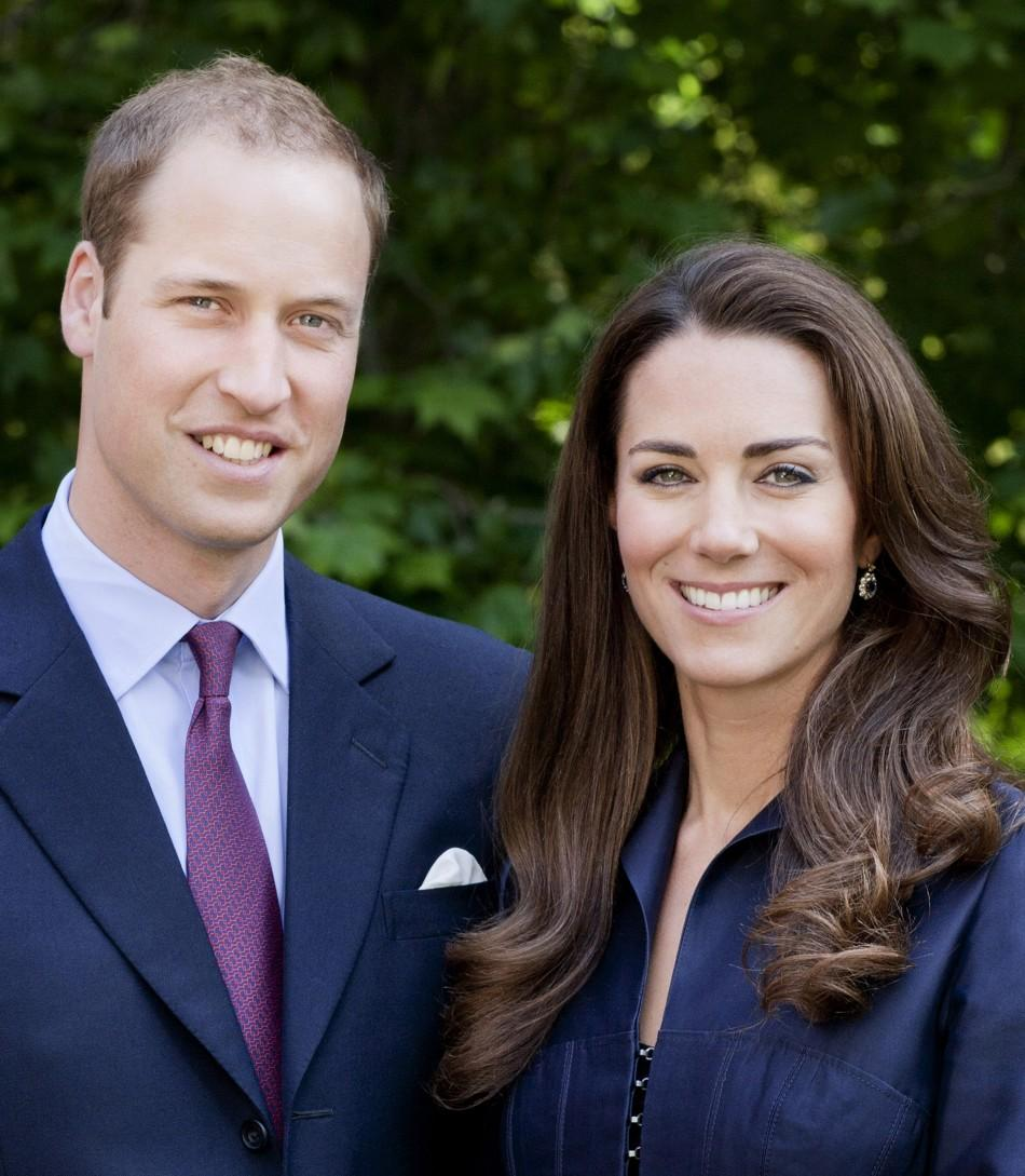 Britain's Prince William and Catherine, Duchess of Cambridge