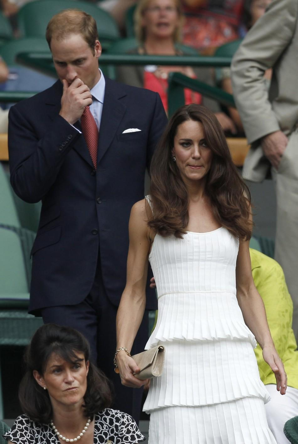 Kate and William Centre Court