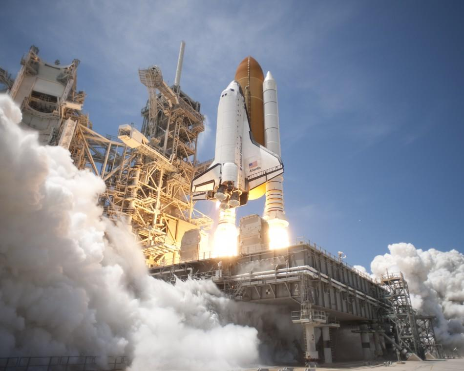 Space Shuttle Atlantis (STS-132) lifts off from Launch Pad 39A at Kennedy Space Center in this NASA handout photo dated May 14, 2010.