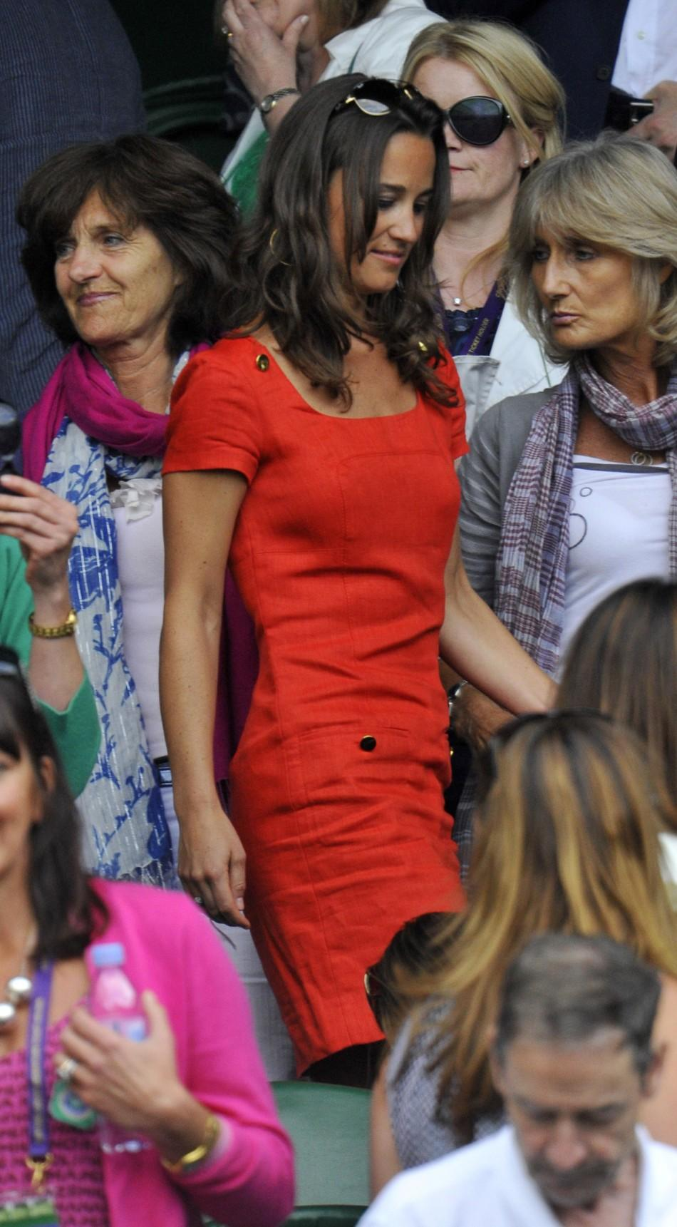 Pippa Middleton's Wimbledon affair: Latest pictures of the fashionista at the games.