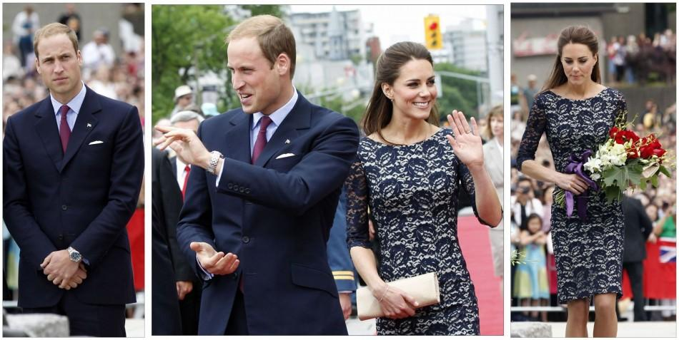 William and Kate begin Canada tour in Ottawa