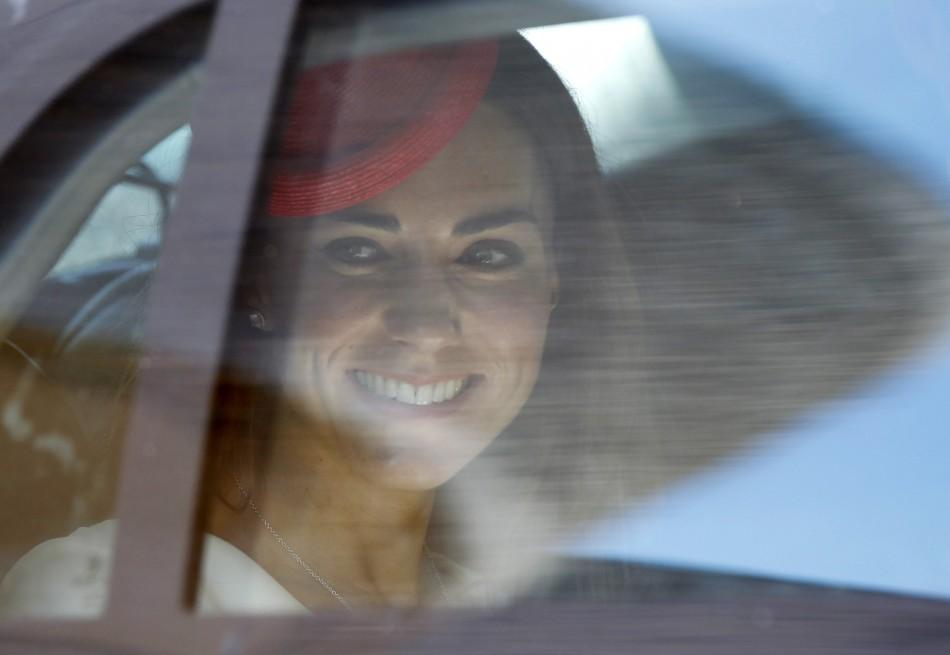 Stunning Kate Middleton celebrates Canada Day in Reiss dress.