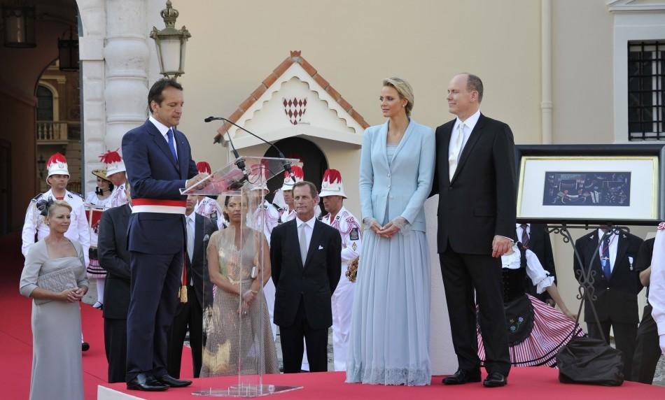 Monaco royal wedding of Prince Albert II and Princess Charlene