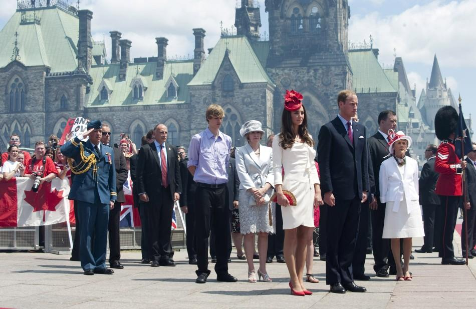 Ravishing Kate Middleton in Canada