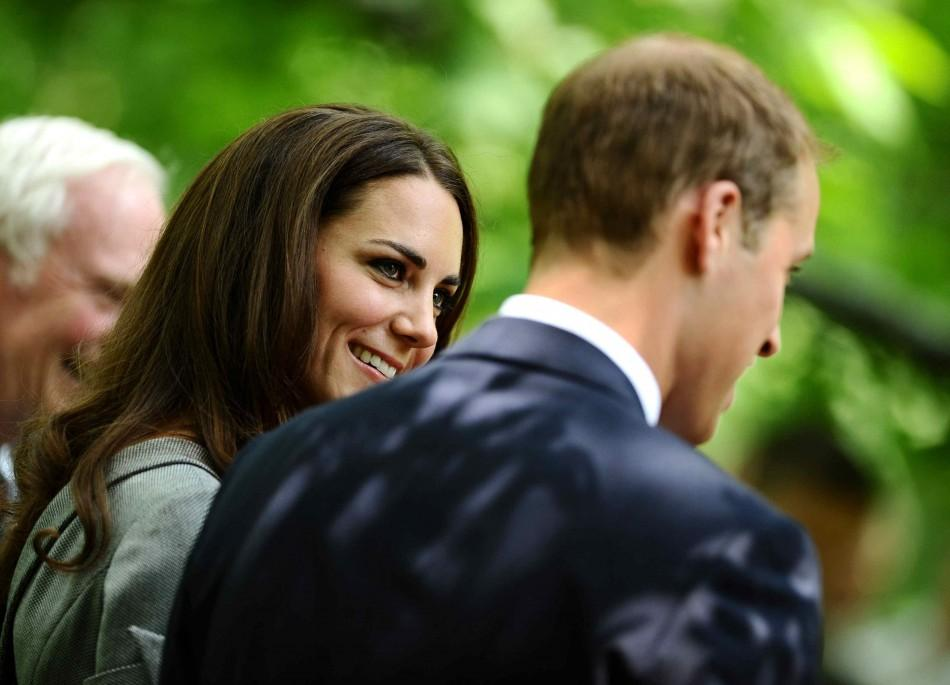 William and Kate in a Reflective Mood