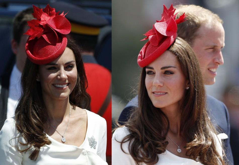 LATEST PICTURES: Kate Middleton opts for fashion diplomacy.