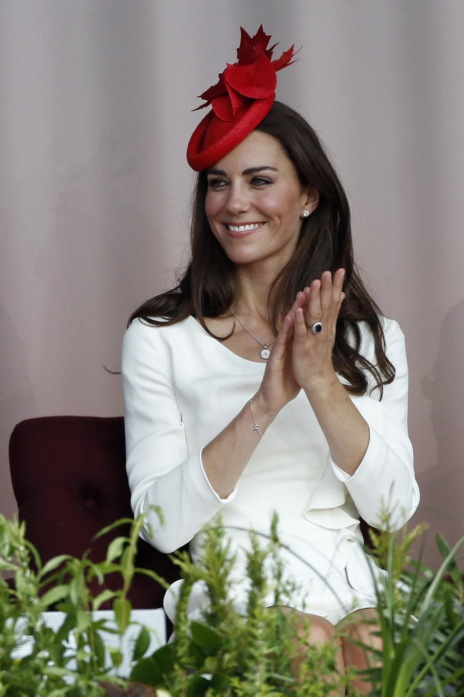 "Kate Middleton in Reiss ""Nanette"" Dress"