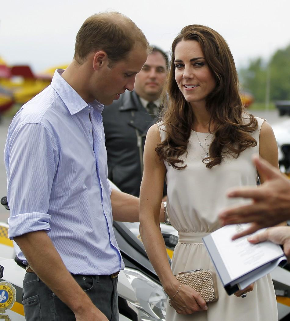 Kate Middleton and Prince William in Canada, Day 4
