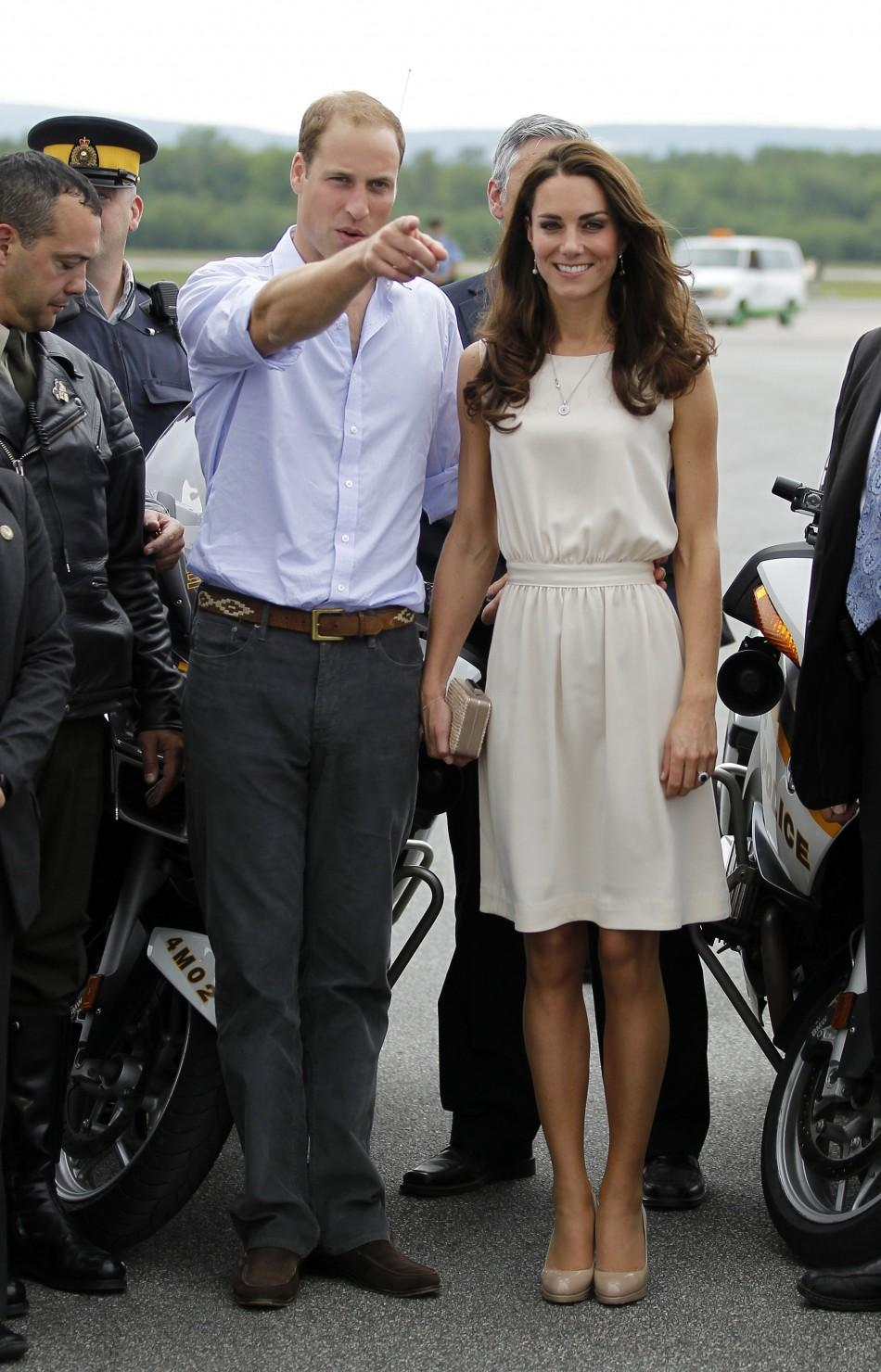 Kate Middleton in Joseph, a UK brand, dress