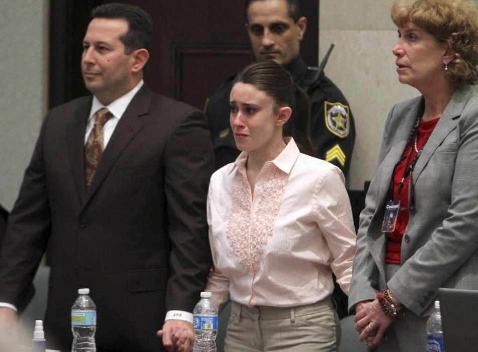 Casey Anthony found not guilty of murder of daughter