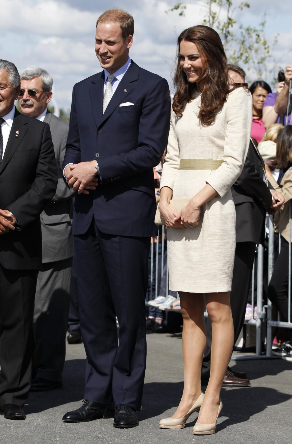 Structured and elegant: Kate Middleton's fashion statement for Day 6 Royal Tour.