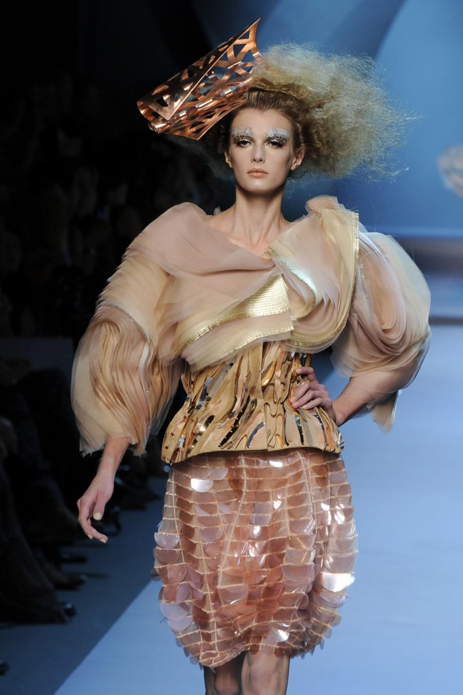 Haute Couture Fall-Winter 2011/2012 fashion show in Paris