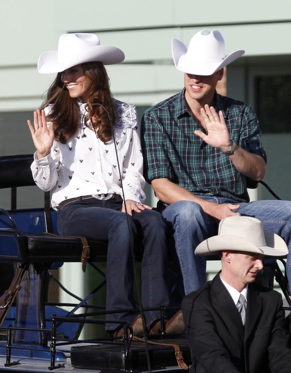 Prince William & Kate Middleton From Elegant To Rodeo Attire