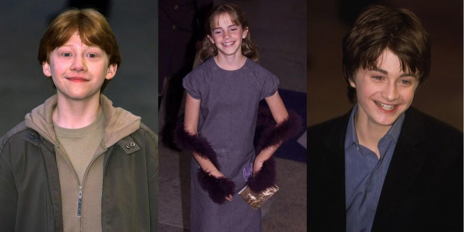 Harry Potter Main Cast Over the Years at 8 Film Premieres
