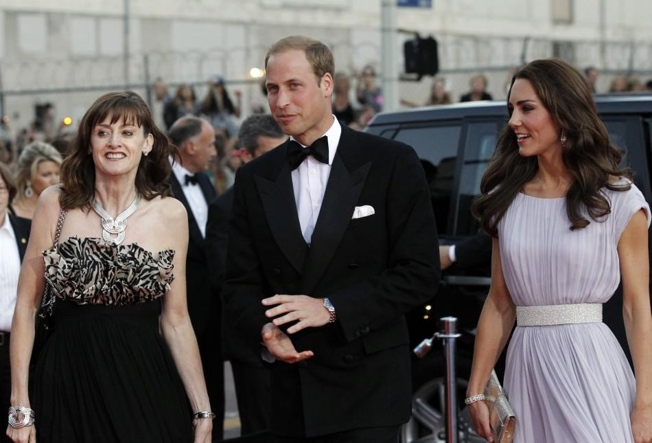 Britain's Prince William and his wife Catherine, Duchess of Cambridge