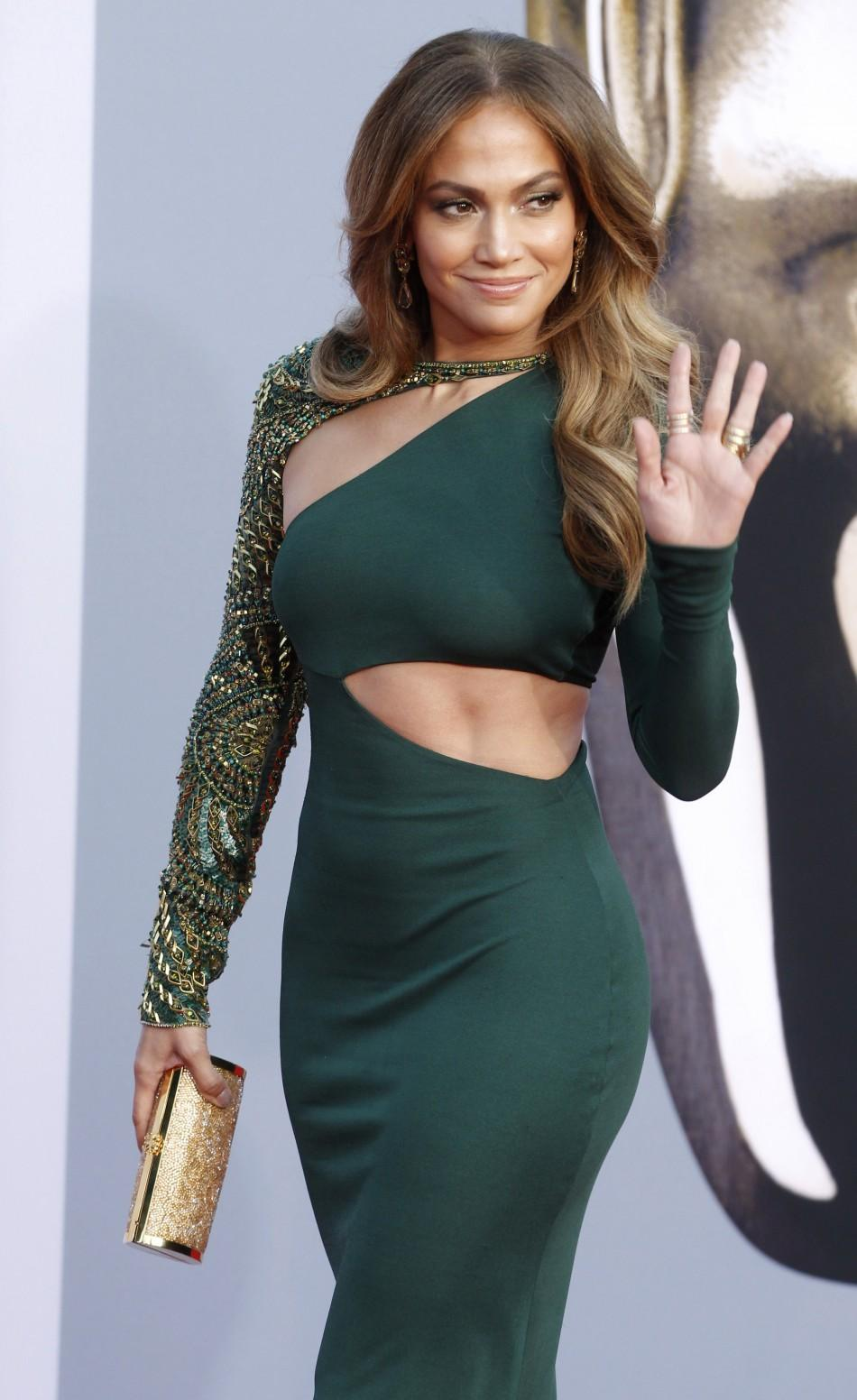 Lopez waves at the BAFTA Brits to Watch event in Los Angeles