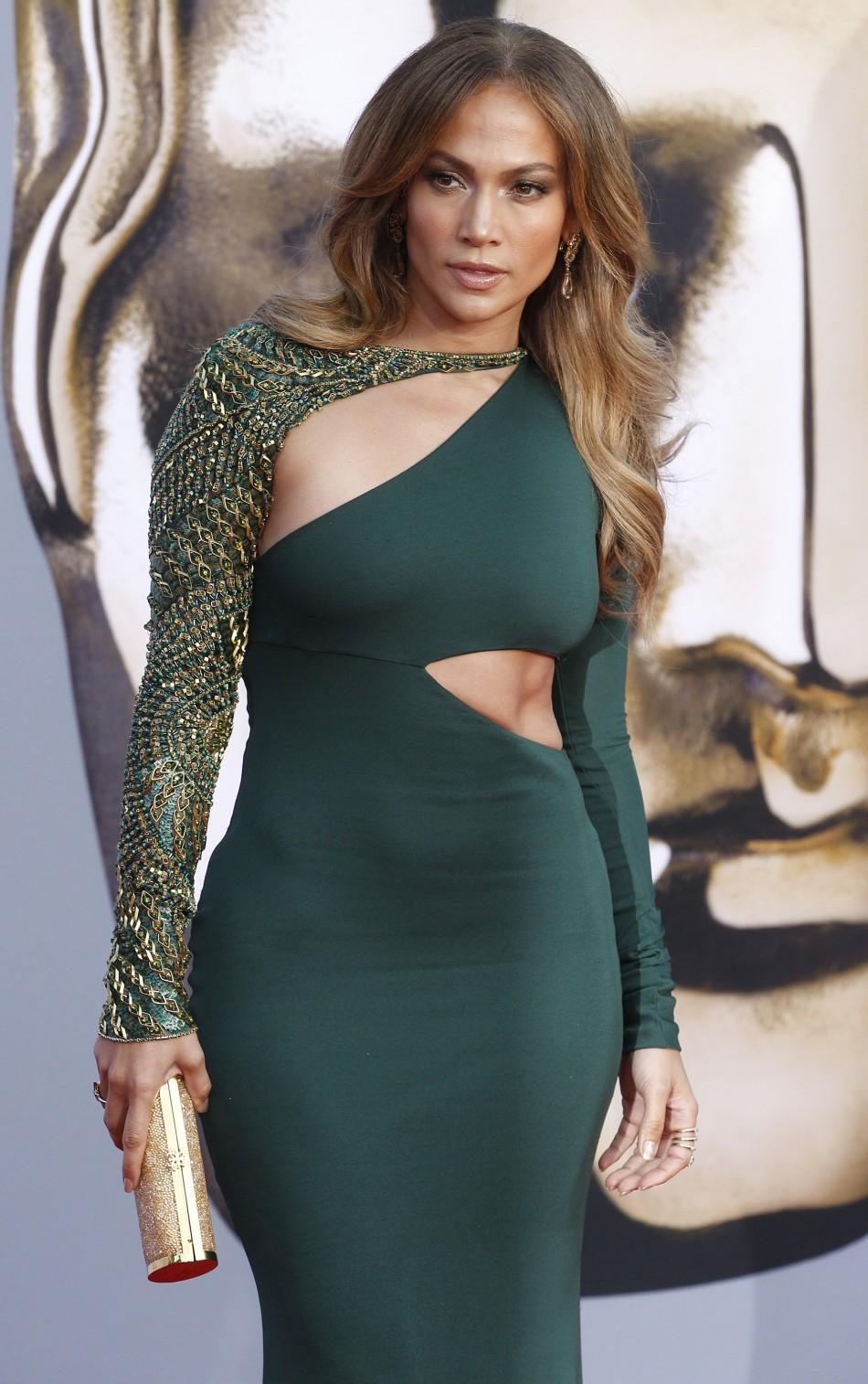 Actress Jennifer Lopez arrives at the BAFTA Brits to Watch event in Los Angeles