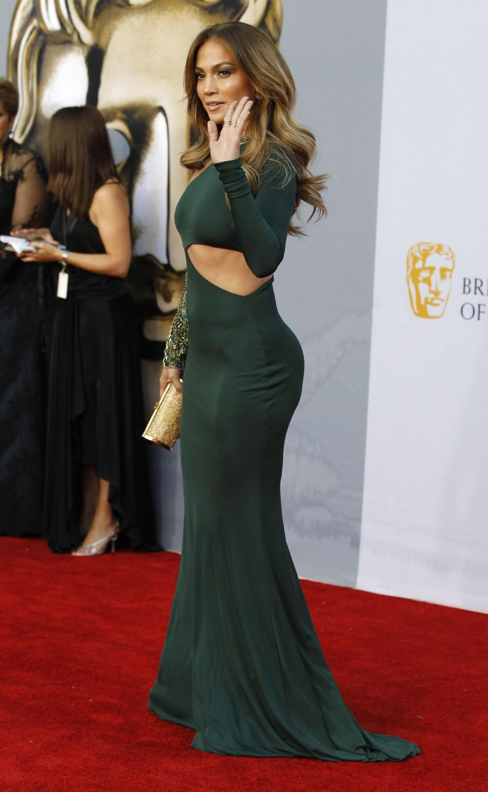Jennifer Lopez arrives at the BAFTA Brits to Watch event in Los Angeles
