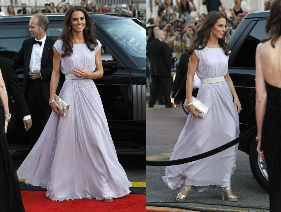 Kate Middleton graces Alexander McQueen dress