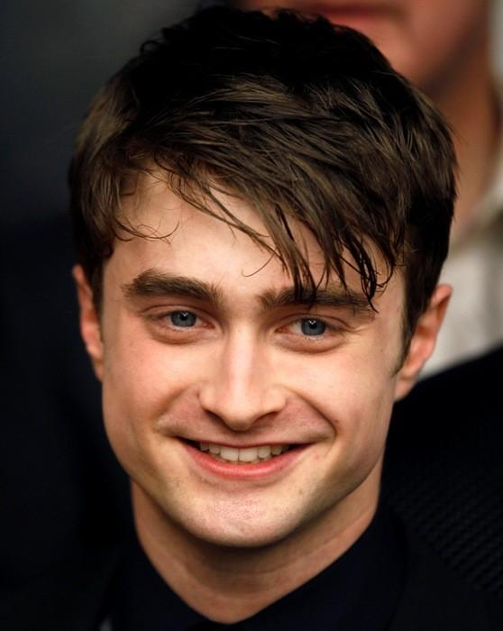 "Cast member Radcliffe arrives for premiere of the film ""Harry Potter and the Deathly Hallows: Part 2"" in New York"