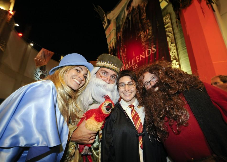 Harry Potter and the Dealthy Hallows Part 2 premiere