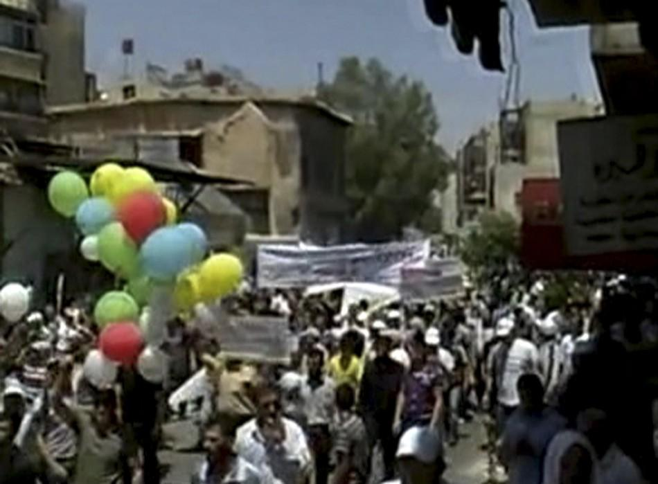 Syrian Protests (PHOTOS)
