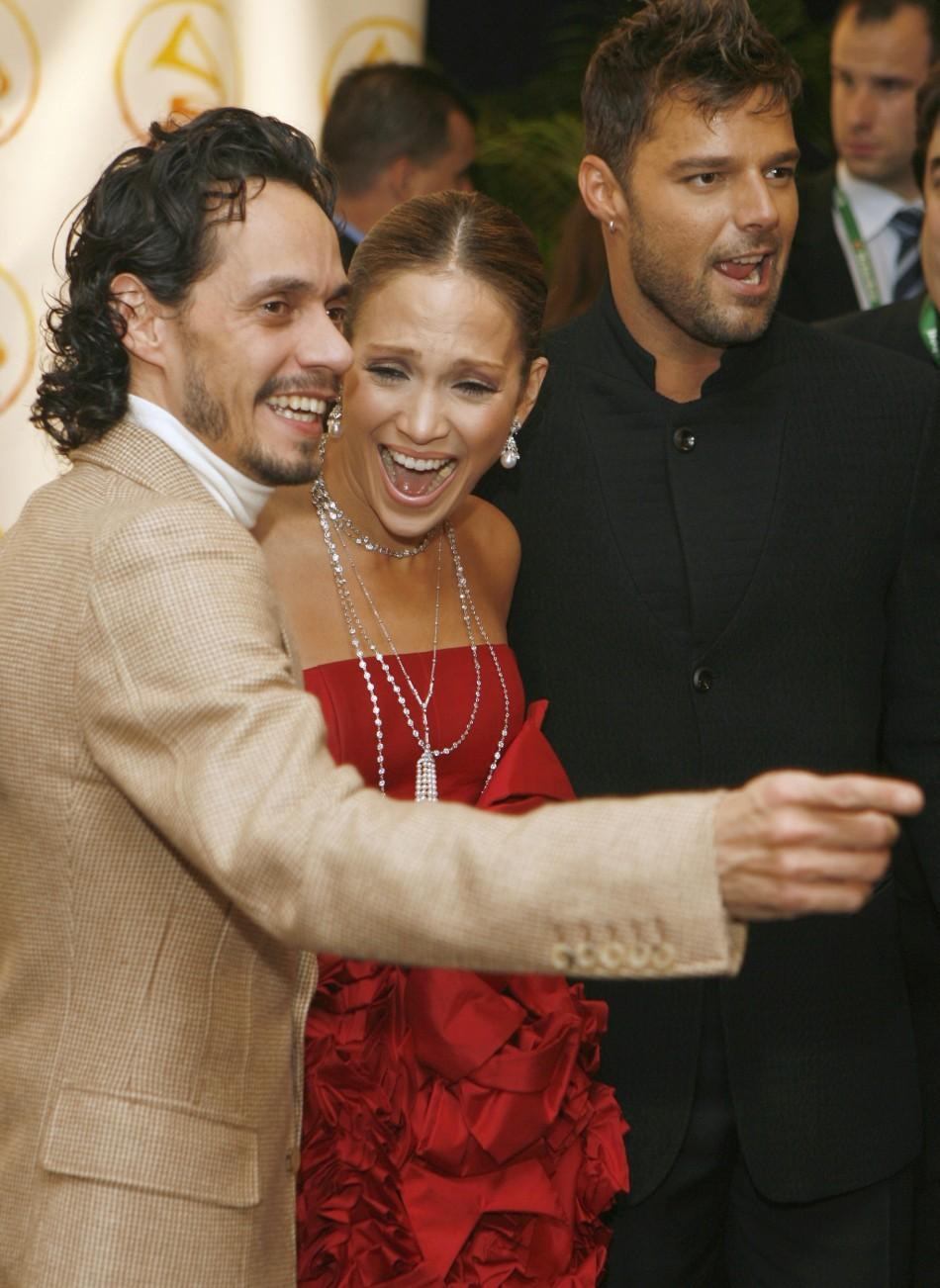 Marc Anthony Jennifer Lopez split