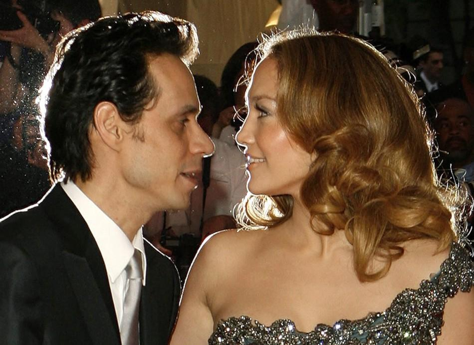 Jennifer Lopez and Marc Anthony on 5/6/08