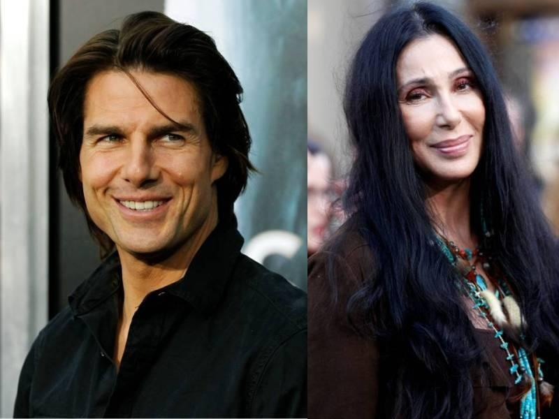 Tom Cruise and Cher Dated Back in the 80's