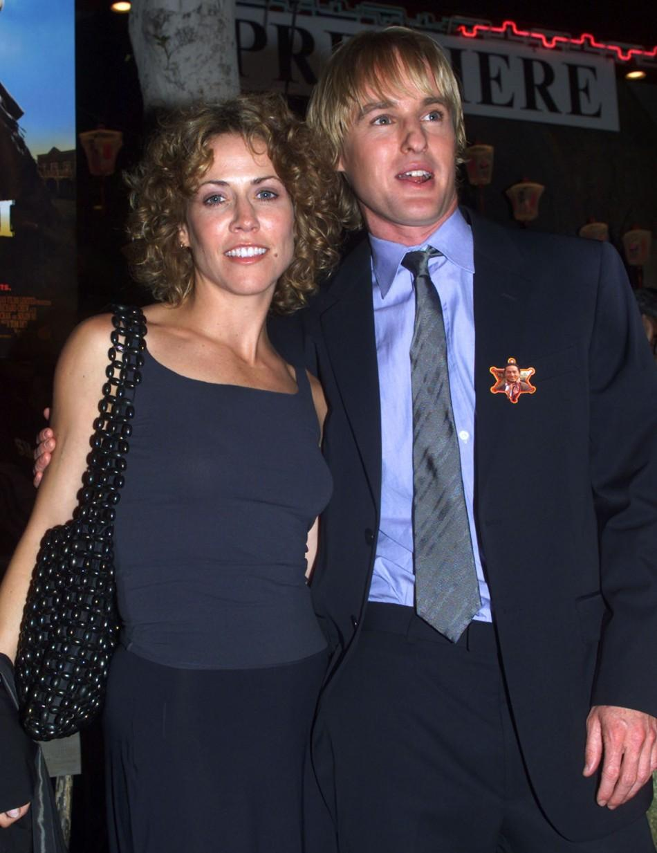 Sheryl Crow and Owen Wilson dated fora while in the 90's