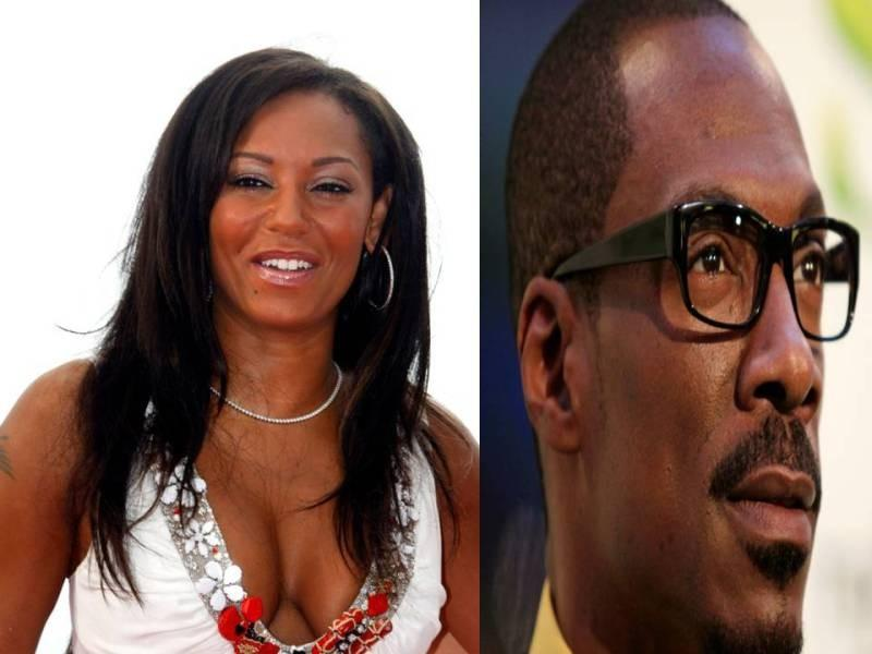 Mel B and Eddie Murphy were in a tumultous relationship