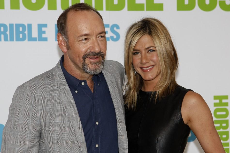 Jennifer Aniston and Kevin Spacey