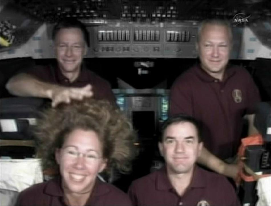 Space shuttle Atlantis Commander Chris Ferguson Answers