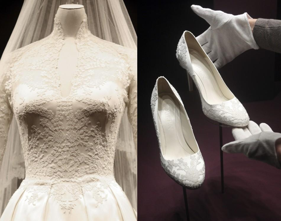 Kate Middleton's Wedding Dress the World Admired Goes on Display