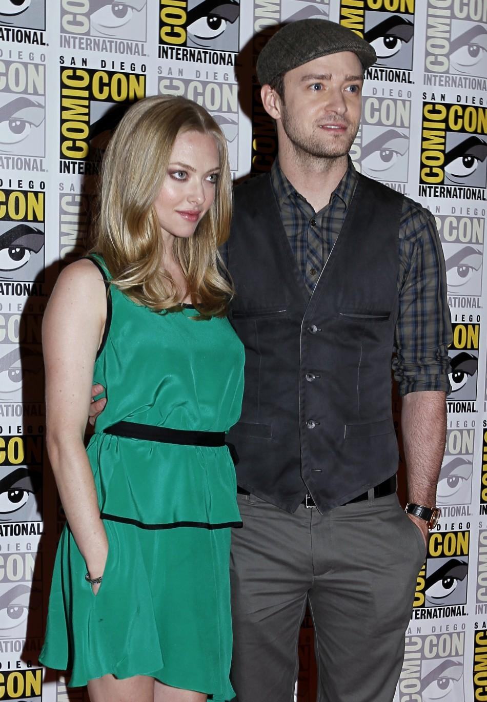 Justin Timberlake and Amanda Seyfried