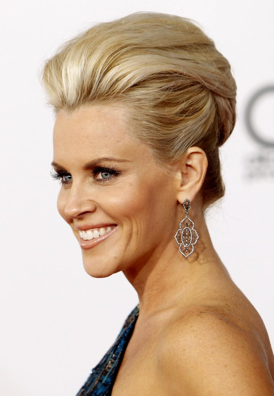 Jenny McCarthy, the former Playboy model reveals her big bump