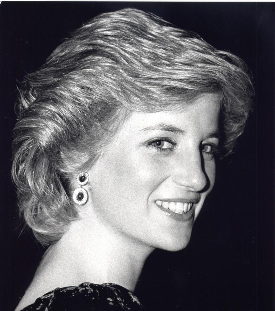The late Princess Diana.