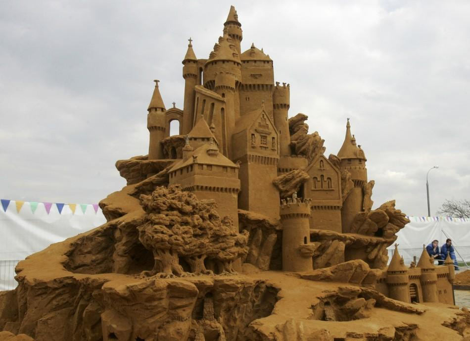 Most Spectacular Sand Sculptures from Across the World