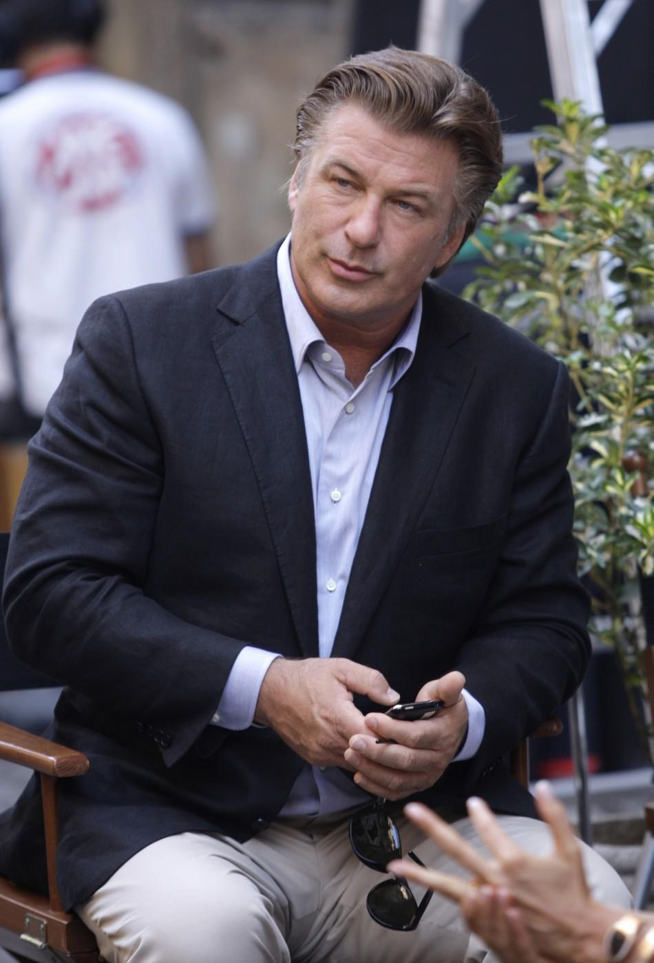 Alec Baldwin films in Rome