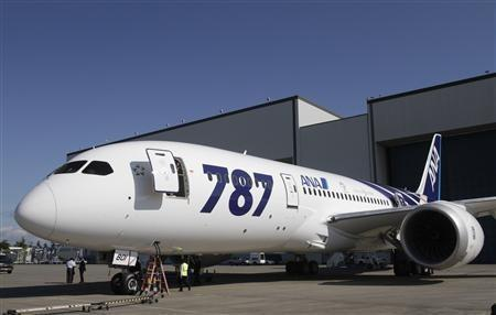 The first Boeing 787 Dreamliner
