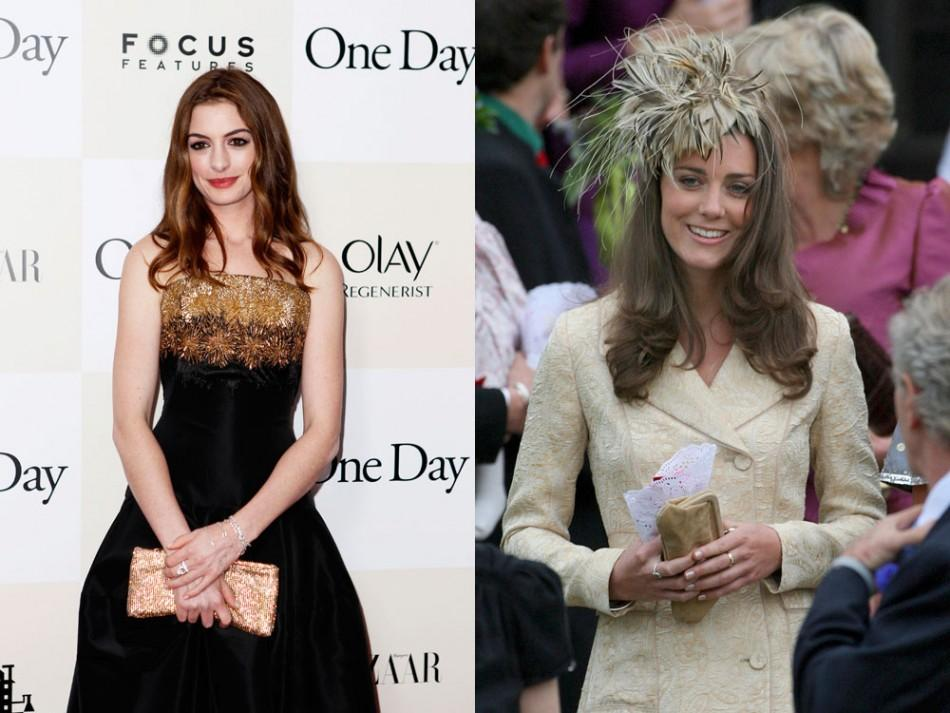 Anne Hathaway and Kate Middleton