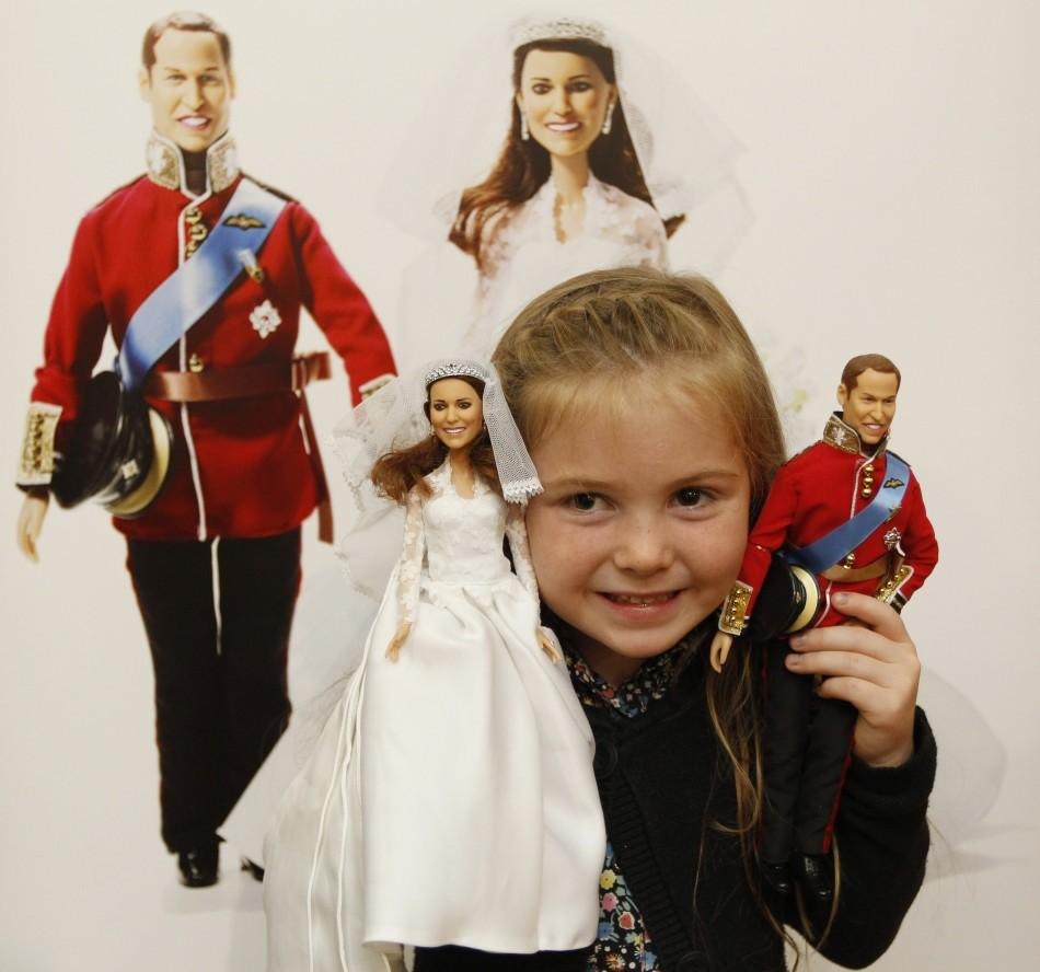 Kate Middleton and Prince William Doll