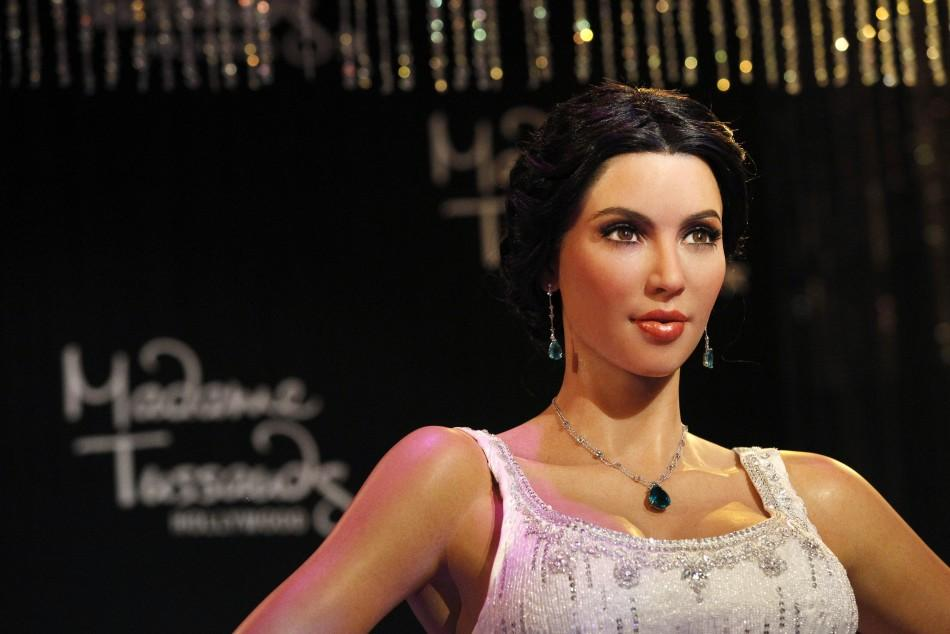 Wax Figure of Kim Kardashian
